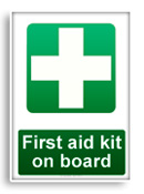 First aid kit onboard