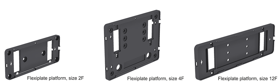 Platform, Flexiplate, Sizes 2F, 4F and 12F, VELCRO, Strapping Kit