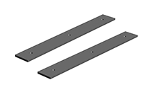 Bracket, Extender Bridge, Flexible, Clamps(pair)